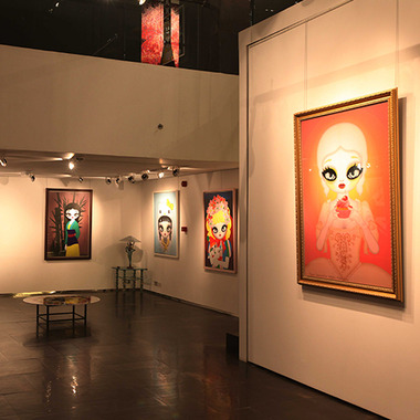 2014 Famous Show at Opera Gallery, Dubai, UAE