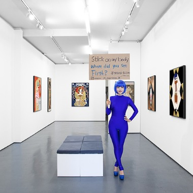 2019 Immortal Beloved, Pontone Gallery, London, UK